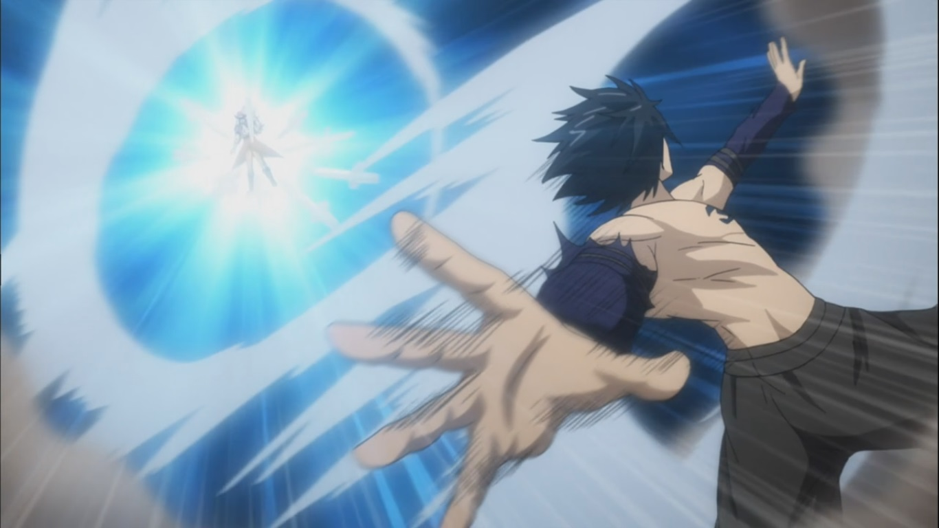 Gray S Powerful Dance Of Chaos Ice Make Unlimited Daily Anime Art