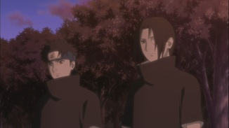 Itachi and Shisui talk