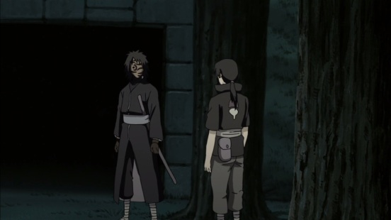 Itachi meets with Obito
