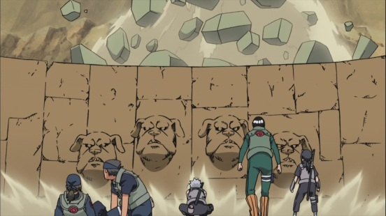 Kakashi's Mud Wall Technique