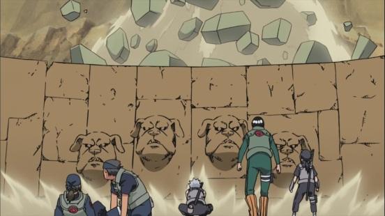 Kakashi's Mud Wall Technique