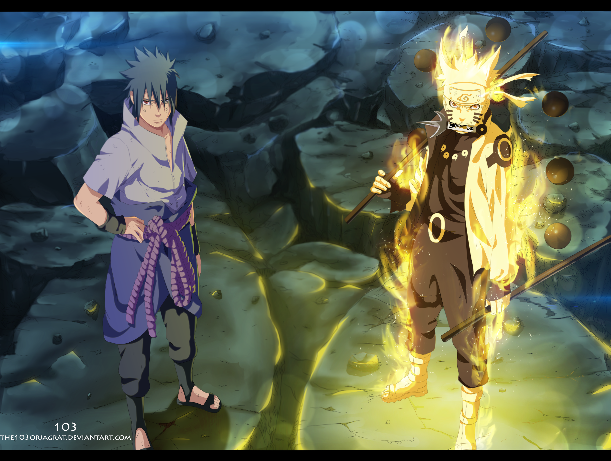 Naruto 673 We will kill Madara by the103orjagrat | Daily Anime Art