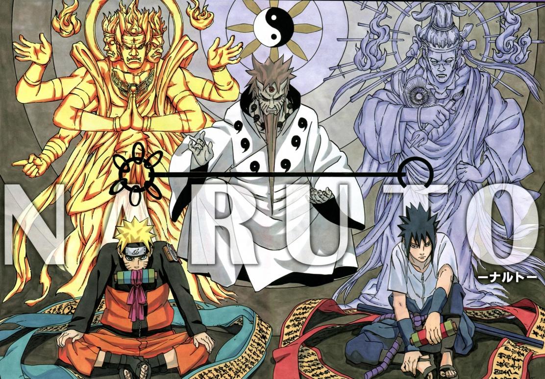 Naruto Sasuke Hagoromo Indra and Ashura