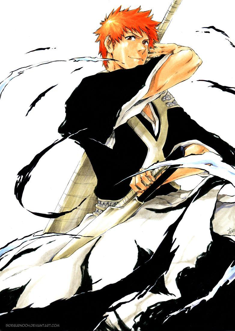 Bleach 582 Ichigo's new form by sideburn004 | Daily Anime Art