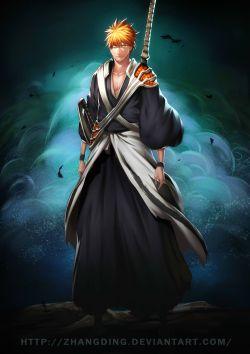 Bleach 582 Kurosaki Ichigo is Back by zhangding