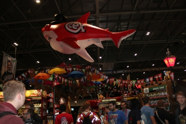 Large CEX Shark at Comic Con