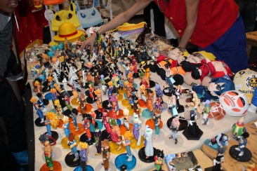Action Figures from different anime's