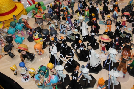 Some Bleach Action Figures
