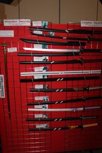 Some fantastic Swords at Comic Con