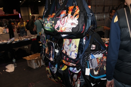 A few bags available at Comic Con