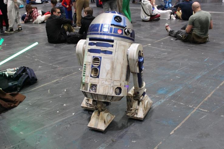 R2D2 at Comic Con London