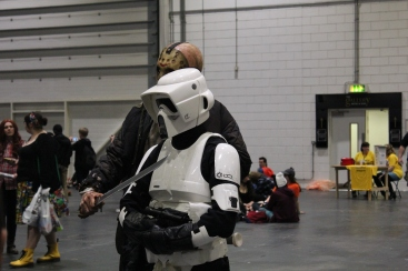 Jason Friday 13 and Storm Trooper