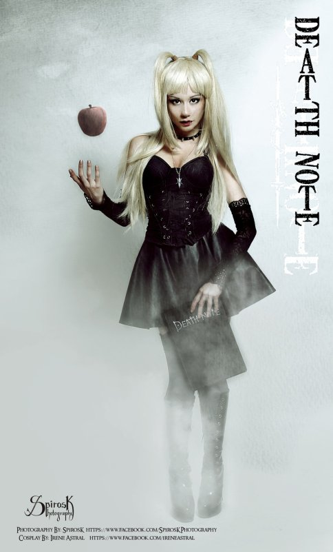 Misa Amane Cosplay Apple of Knowledge by IreneAstral