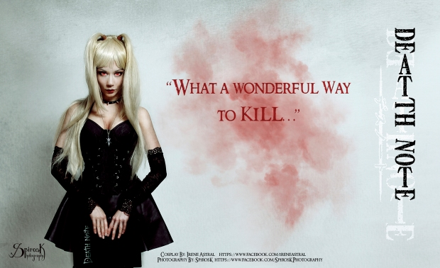 Misa Amane Cosplay Eyes of the God of Death by IreneAstral