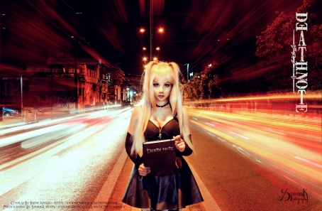 Misa Amane Highway to Death by IreneAstral