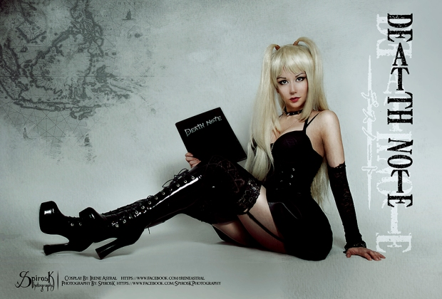 Misa Amane This world is in my hands by IreneAstral