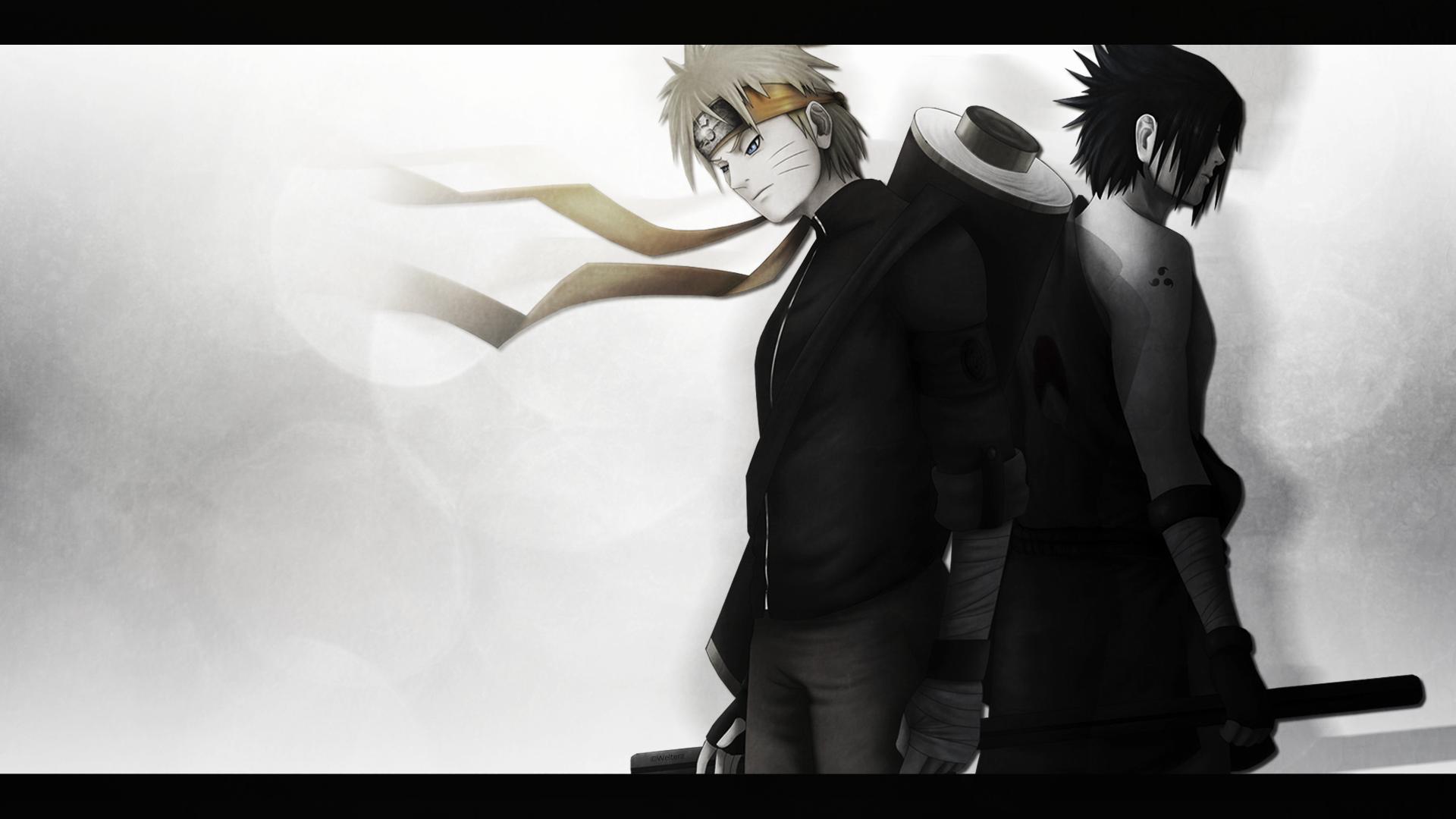Naruto And Sasuke Power