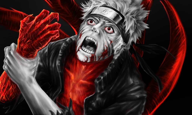 Naruto Four Tails Anger Inside by nakedmazafakar