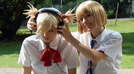 Cosplay Monday: Shinji Hirako and HiyoriSarugaki