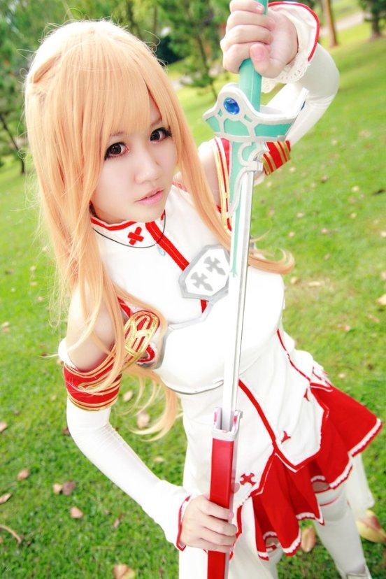 Asuna Sword Art Online Cosplay by Spinelo