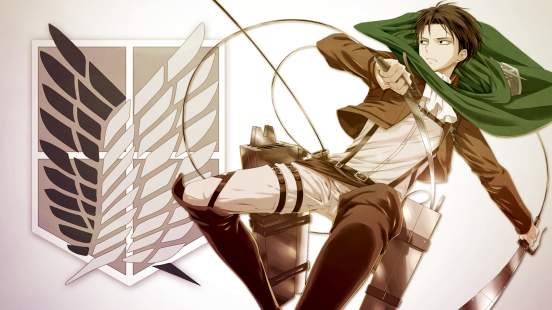 Attack on Titan Levi Wallpaper by welterz