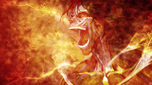 Attack on Titan Wallpaper Eren Titan Form by umi-no-mizu