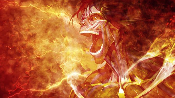 Attack On Titan Wallpaper Eren Titan Form By Umi No Mizu
