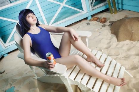 Hinata in Bikini Cosplay by Milena104