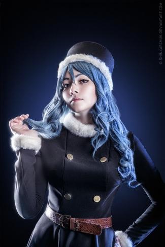 Juvia Lockser Fairy Tail Cosplay by shinkarchuk