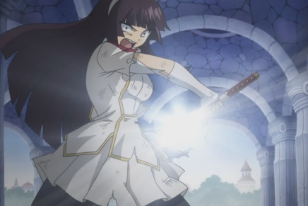 Erza vs Kagura! Simon's Death – Fairy Tail 185