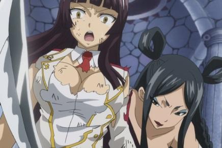 10,000 Dragons Invasion! Erza vs Minerva – Fairy Tail186