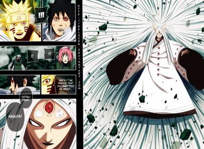 Naruto 679 Kaguya Ootsutsuki by belucen