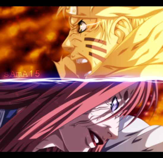 Naruto 680 Naruto vs Kaguya by Sama15