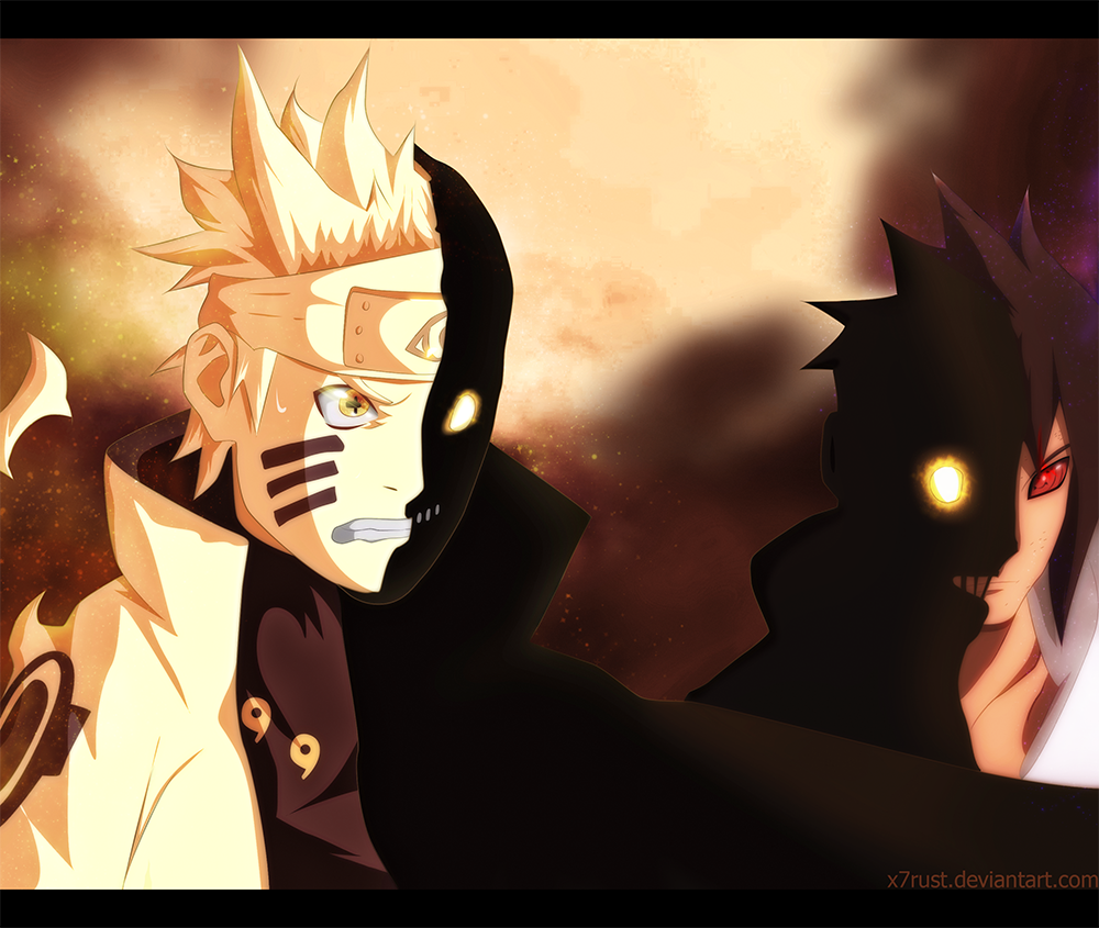 Naruto Shippuden Chapter 486 By Egotastikk On Deviantart: Naruto 681 I'll Show You All By X7rust