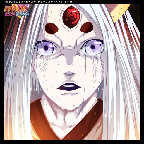 Naruto 681 Kaguya's Hate by designerrenan