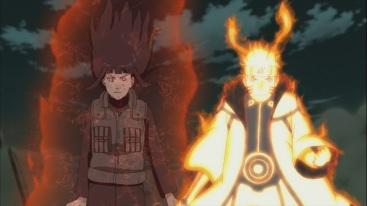 Naruto gives Hinata Kurama's Chakra
