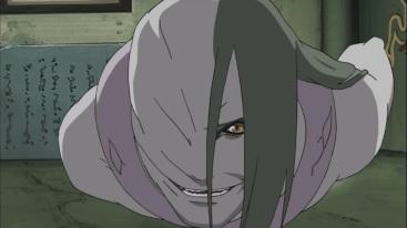 Orochimaru enters White Zetsu