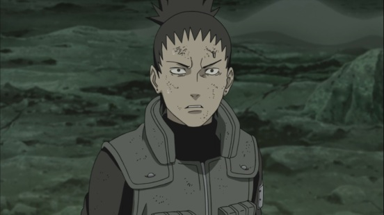 Shikamaru realises Bijuu Dama on it's way to HQ