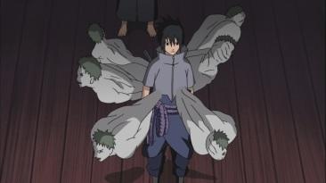 White Zetsu's flow out of Sasuke