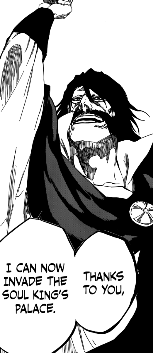 Yhwach Invades Soul King's Palace