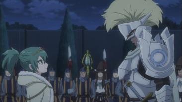 Arcadios and Hisui talk