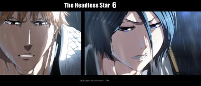 Bleach 587 Rukia and Ichigo on Ishida by ironizer