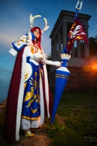 Erza Scarlet Farewell Armor Cosplay Fairy Tail by Hanuro-Sakura