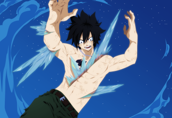 Fairy Tail 391 Gray Fullbuster injured by advance996