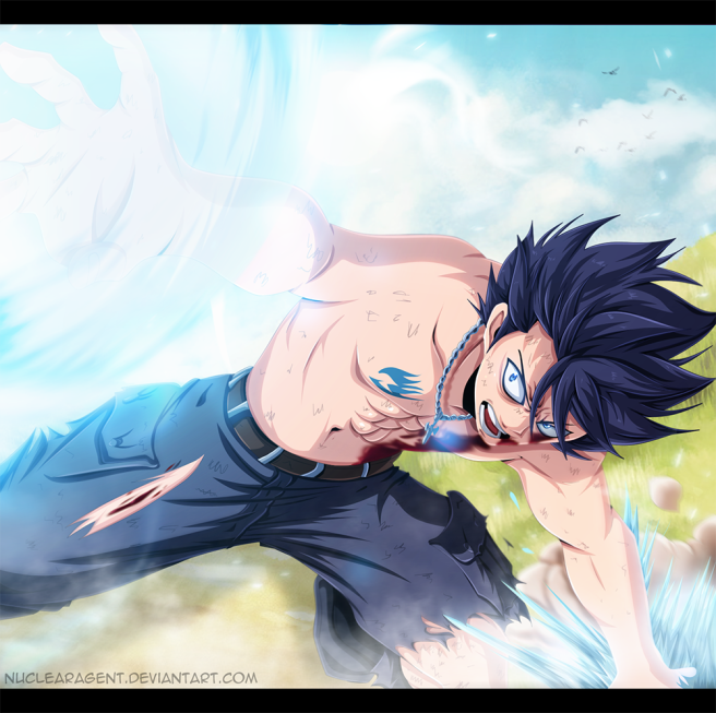 Fairy Tail 391 Gray's Revenge by nuclearagent