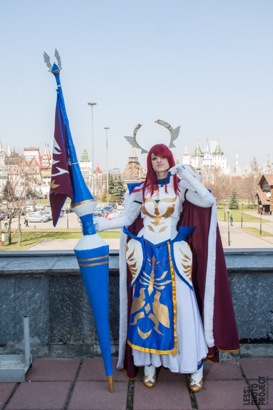 Fairy Tail Erza Scarlet Cosplay by Hanuro-Sakura
