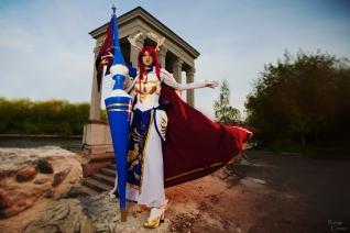 Fairy Tail Farewell Armor Erza Scarlet by Hanuro-Sakura