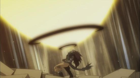 Gajeel's Iron Shadow Mode Roar
