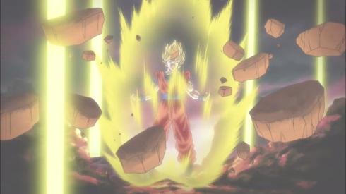 Goku Super Saiyan Dragon Ball Z Movie 2015