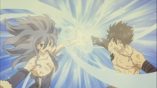 Gray and Juvia's combination
